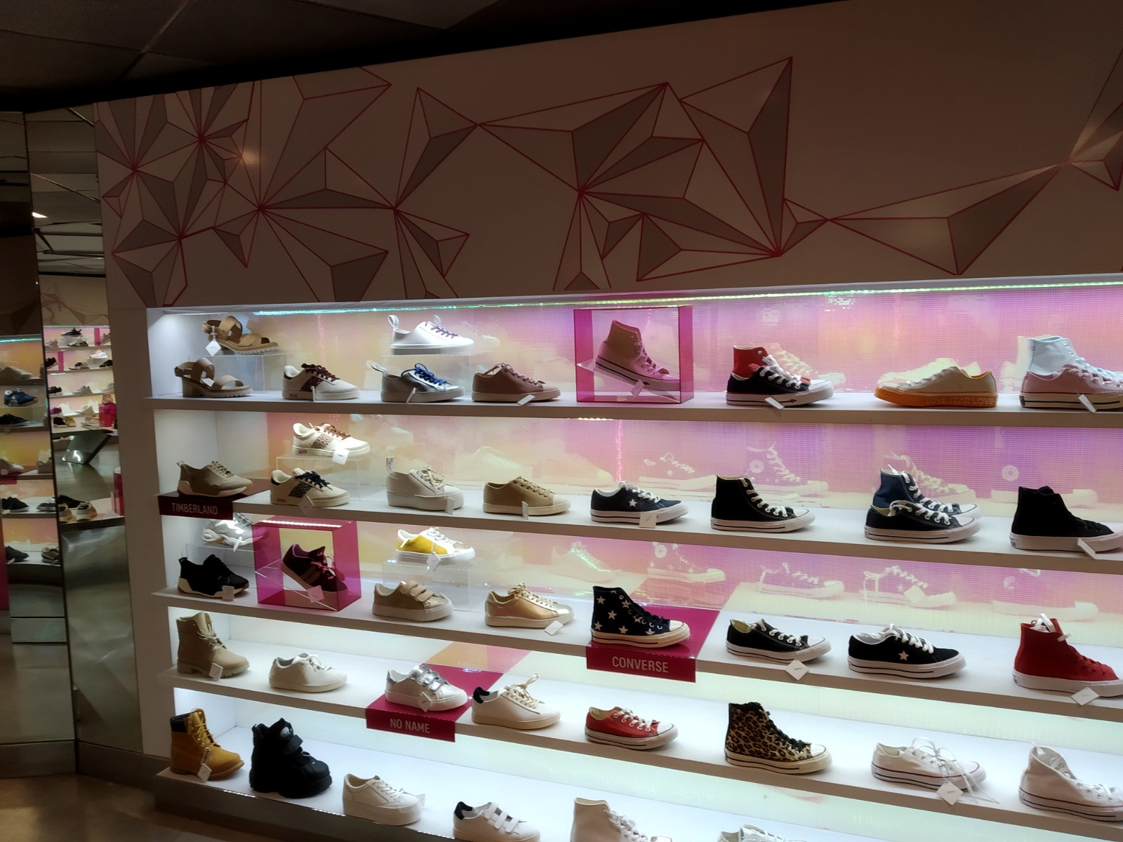 N'go shoes, Galeries Lafayette