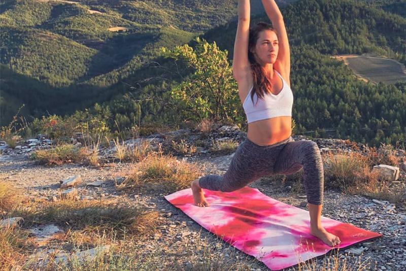 Tapis de yoga éthique et écologique Yogam
